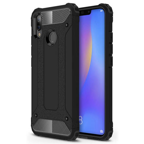 Military Defender Shockproof Case for Huawei Nova 3i - Black